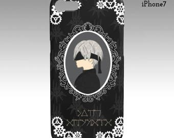Nier Automata 9S iPhone/Samsung Galaxy Phone Case