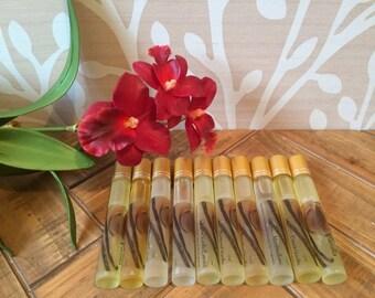 VANILLA Perfume Oil ~ Original Vanilla Extract ~ Vanilla Bean ~ Bourbon Vanilla ~ Whipped Cream ~ Marshmallow & More! 10ml Roll On