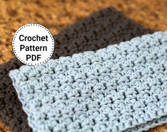 CROCHET PATTERN | Dishcloth Pattern | Crochet Dishcloth Pattern -Omaha,