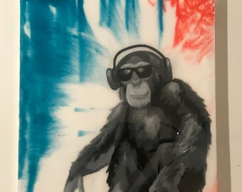 Hipster Chimp