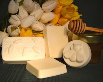 Handmade Goat's Milk & Honey Soap