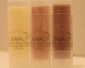 Lip Balm All Natural nourishes and moisturizes those dry lips with unflavored