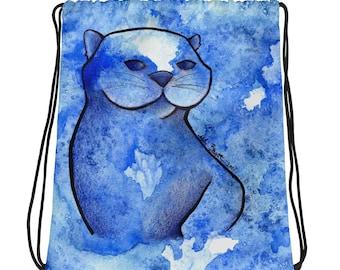 Otter Galaxy - Drawstring bag