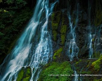 Waterfall Photograph | Panther Creek Falls | Columbia River Gorge | Travel Photograph | Washington State Photo | Nature Photography