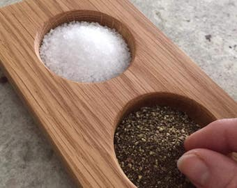 Salt and Pepper Pinch Pot