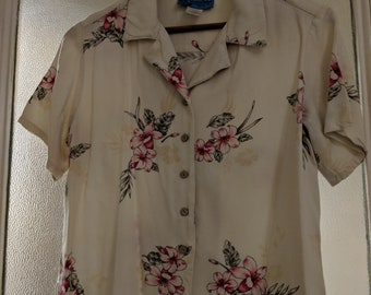 Women's Vintage Cropped Shirt