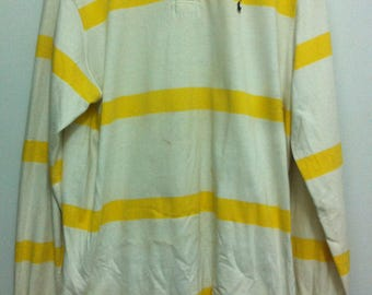 Polos Polo Ralph Lauren Long Sleeve Rugby Made in Usa