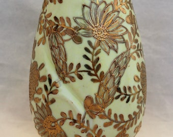 Antique Gold Moriage Ceramic Sugar Shaker/Muffineer - Morimura Bros. Japan - Circa 1911+