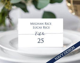Couples Place Cards Template, Wedding Place Cards, Wedding Place Card Template, Place Cards Printable, Place Card Template, Place Cards