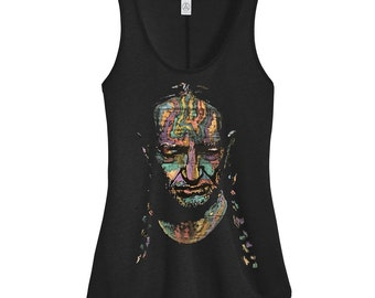 Willie Nelson Tank Top