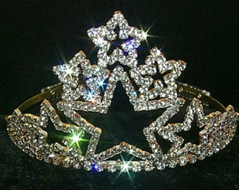 Stacked Star Tiara #11388