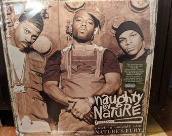 Naughty By Nature - Nineteen Naughty Nine - Nature's Fury - Vinyl