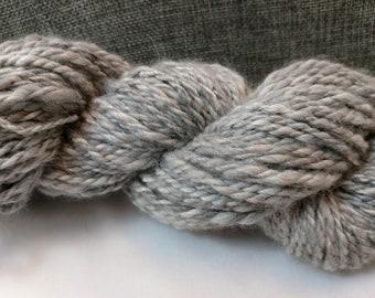Angora Yarn/100% Angora Yarn/Luxury Angora Yarn/Handspun Yarn/Humanely Raised Angora Yarn/2-Ply Angora Yarn/Homegrown Angora Yarn