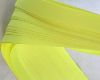 Bright Lemon~ Moravian German Froebel Star Paper (52 strips)