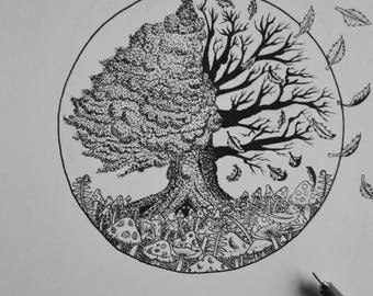 "A4 print ""Tree of Life"""