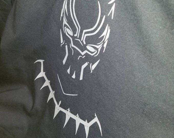 Black Panther Hoodie T-shirt With Movie Quote