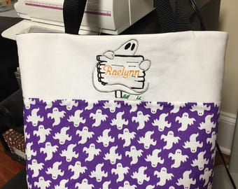 Personalized Trick or Treat Ghost Bags