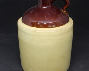 Small Stoneware Jug, 7 inches tall