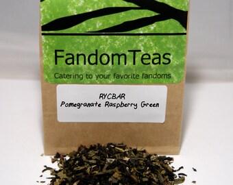 RYCBAR (Doctor Who Inspired Tea Blend-Pomegranate Raspberry Green)