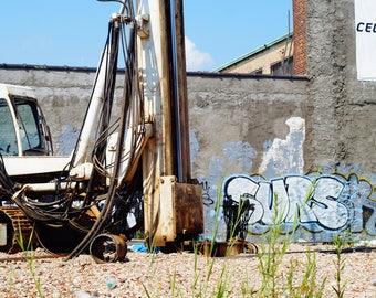 New York Graffiti Artist Photograph 16x20 Glossy Digital Print Matted Framed Street Art Koz Surs