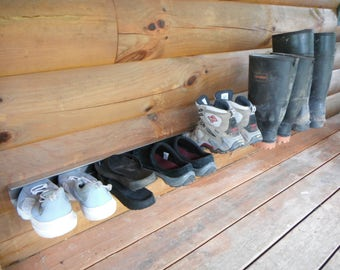 Stainless Steel Wall Mounted Shoe Rack