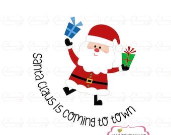 Christmas SVG, DXF, EPS christmas cut file santa svg baby svg cute svg baby svg my santa cut file christmas cut file santas little helper