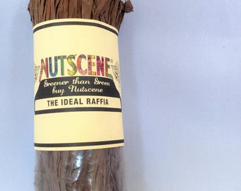 Nutscene Raffia 50gm  - Brown