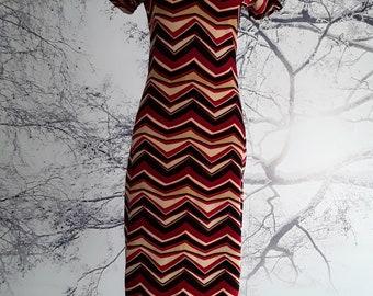 Vintage, Micropana long midi dress