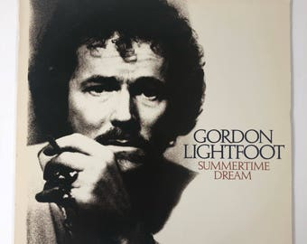 1976 Gordon Lightfoot Summertime Dream Vinyl Record LP Warner Bros.