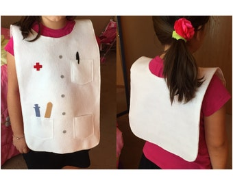Pretend play VEST - Doctor