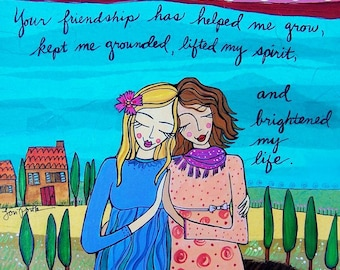 Greeting Card : Your Friendship