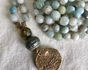 Mama Bird Necklace | Summer Jewelry | Inspirational | Spiritual | Mother