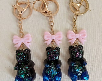 Galaxy XL Gummy Bear Bag Charm