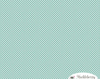 Sweet Prairie, Gingham Mint, Riley Blake Fabric, Sedef Imer, Down Grapevine Lane, Floral, Quilting Fabric, Cotton Fabric, Yardage