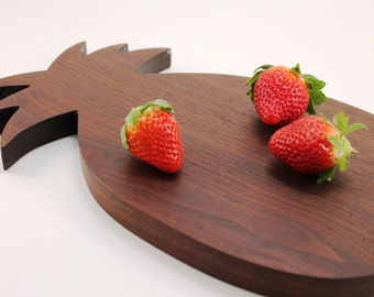 Wood Pineapple Cutting Board Tray
