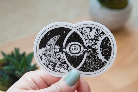 Vesica Piscis Art Sticker