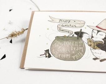 70% OFF - Happy Witches Brewing - 10 Greeting Cards