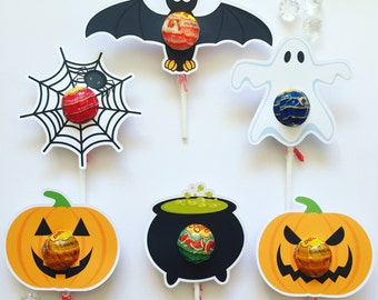 Halloween lollipop holder