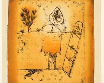 Paul Klee: Winter Journey. Fine Art Print/Poster (5006)