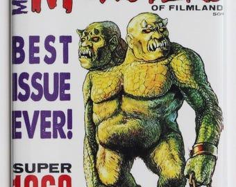 Famous Monsters of Filmland 1968 Yearbook FRIDGE MAGNET Monster Movies Beast