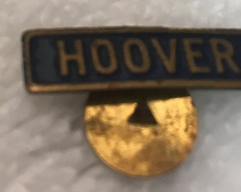 Vintage Herbert HOOVER Political Presidential Campaign Button Lapel Pin