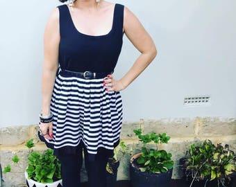 Vintage Striped Dress