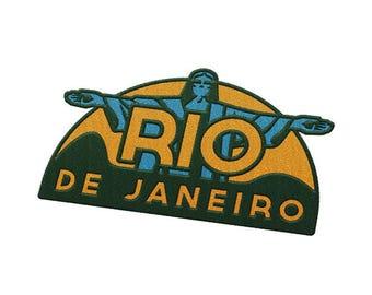 Rio de Janeiro Brazil Travel Patch