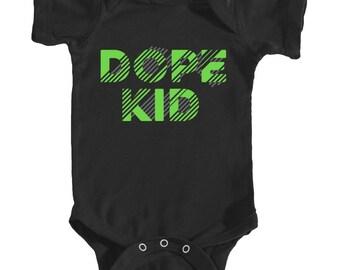 Dope Kid Onesie (Black)