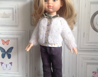 """Mohair and silk"" jacket for Paola Reina and Corolle doll"