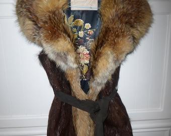 Fox Fur size 38-40 new - unique creation