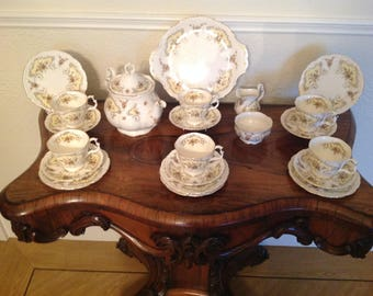 Royal Albert tea set September song