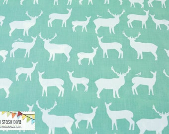 Elk Fam Pool From Birch Organic Fabric's Mod Basics 2 Collection