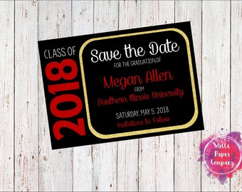 Graduation Save the Date (Digital Download)