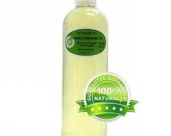 12 OZ Evening Primrose Oil Pure Organic Cold Pressed